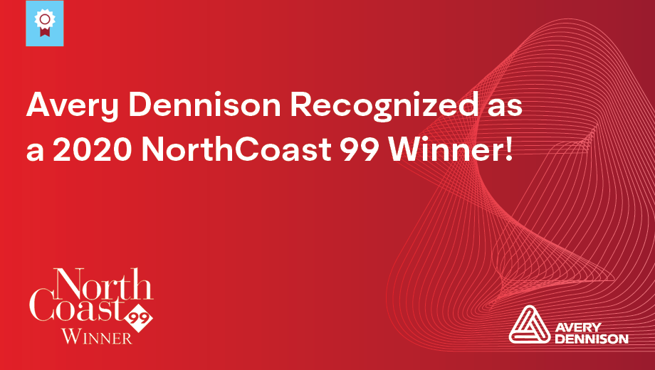 Avery Dennison Recognized as NorthCoast 99 Winner for 20th Consecutive Year